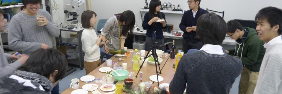 栗原先生誕生日兼栗原研究室節分パーティー2015!!