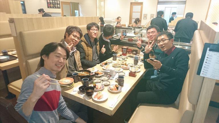 中国の学生がkrlabを訪問(最終日)