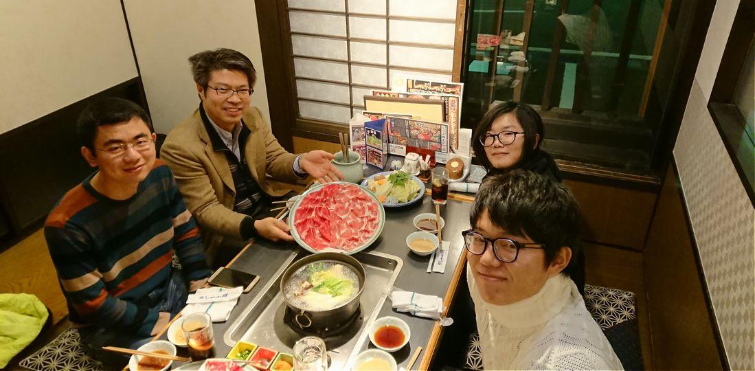 最後の晩餐@しゃぶ膳