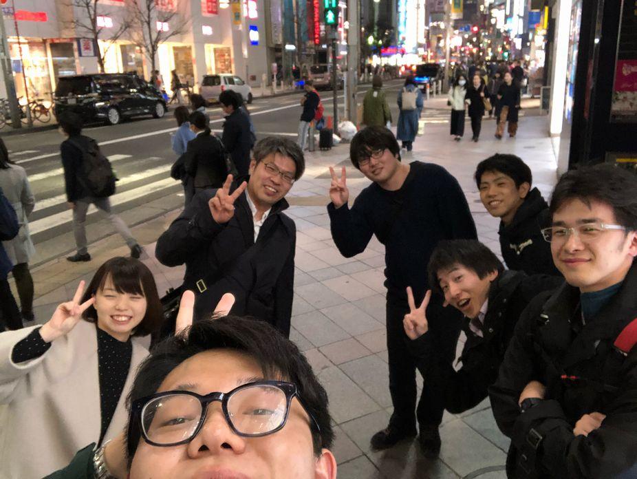 情処発表慰労会兼第1回同窓会開催!