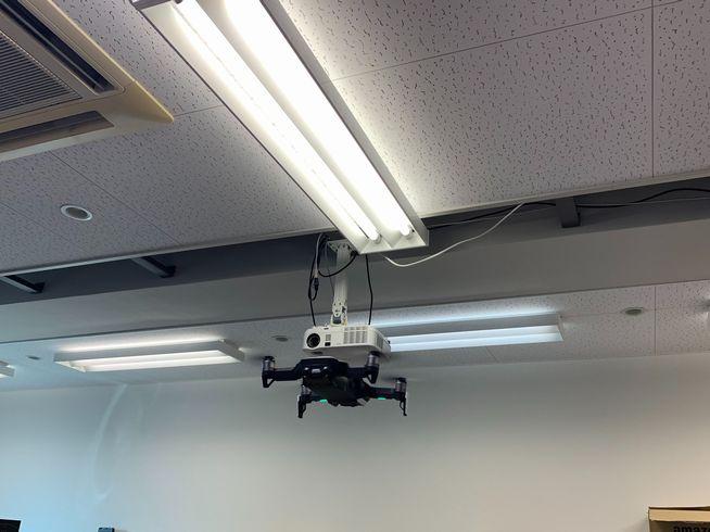 drone到着