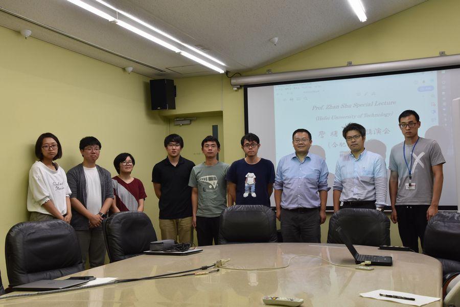 Prof.Zhan 講演会